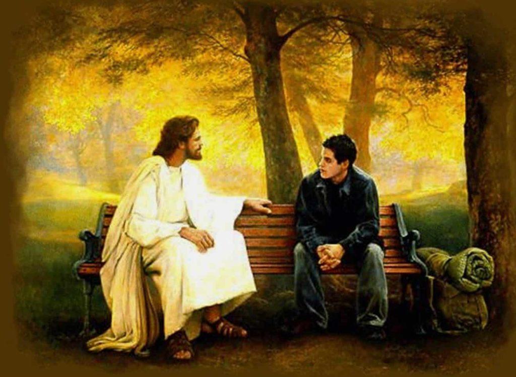 talking with god 1024x748 - Jesus Nosso Melhor Amigo