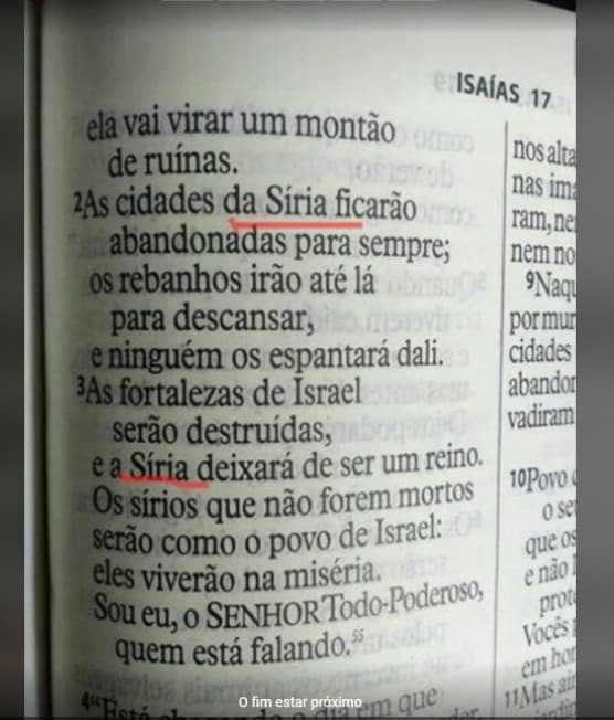 WhatsApp Image 2018 03 06 at 09.05.37 1 - Isaías 17:2,3 - Síria e a Volta de Jesus - Profecia de Isaías
