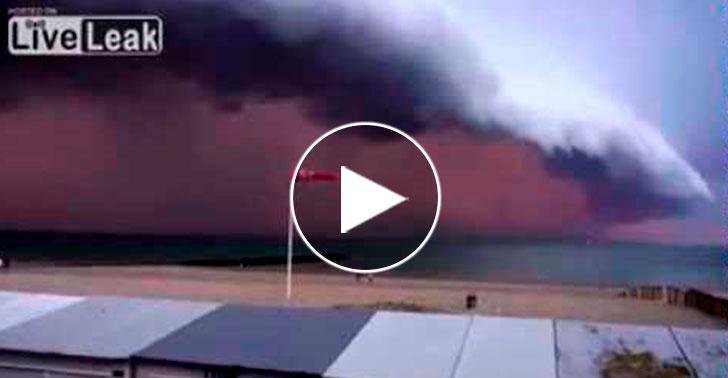 apocaliptica - A tempestade apocalíptica que impressionou o mundo inteiro, o sinal de Deus para todos aqui na terra, veja o vídeo