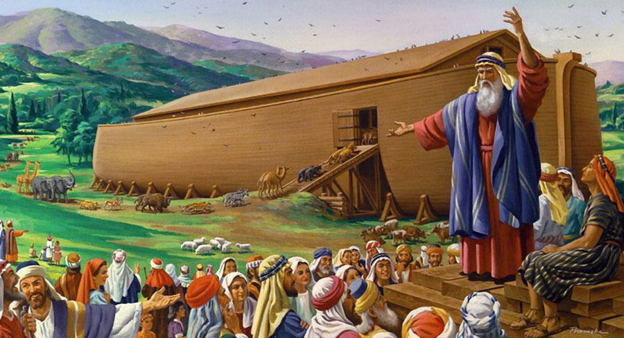 noé - Tenha a Mesma Fé de Noé