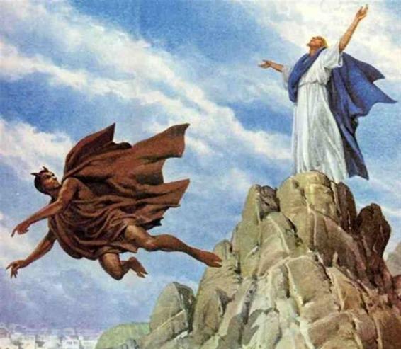 deus e o mal - Tudo o que é de Deus o Maligno não Toca!
